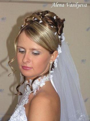 прически свадебные наташа пахомова